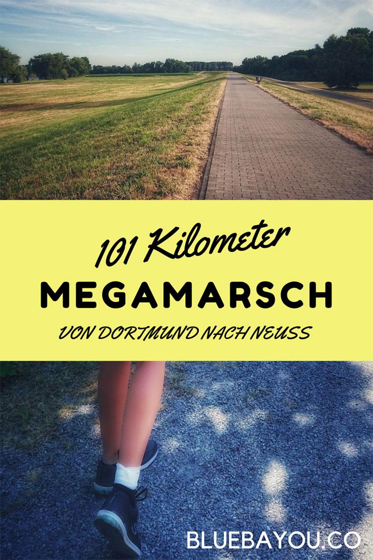 101 Kilometer von Dortmund nach Neuss: Alles rund um meinen Megamarsch.