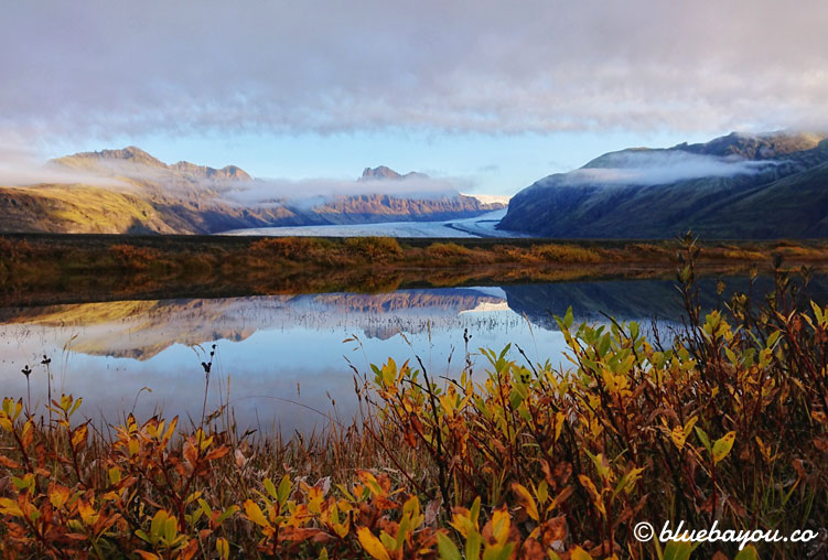 Fotoparade Atemberaubend: Grandiose Ausblicke um 6 Uhr auf Island.