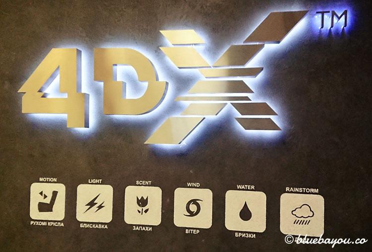 4DX-Kino: Hier gibt es Bewegung, Licht, Geruch, Wind, Regen, Nebel und mehr.