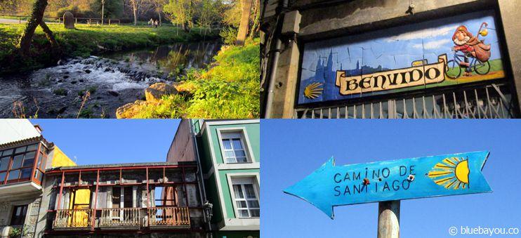 Flüsse, bunte Häuser und Camino-Schilder: Der nicht-traditionelle Jakobsweg von Santiago nach Porto.