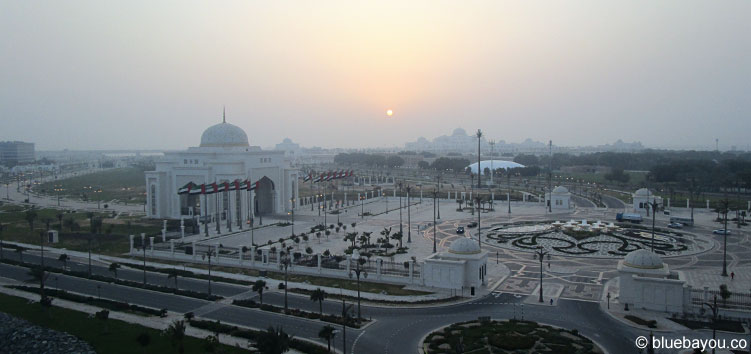 Der UAE Presidential Palace in Abu Dhabi.