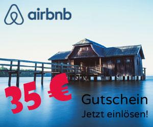 35-Euro-Gutschein für Airbnb.