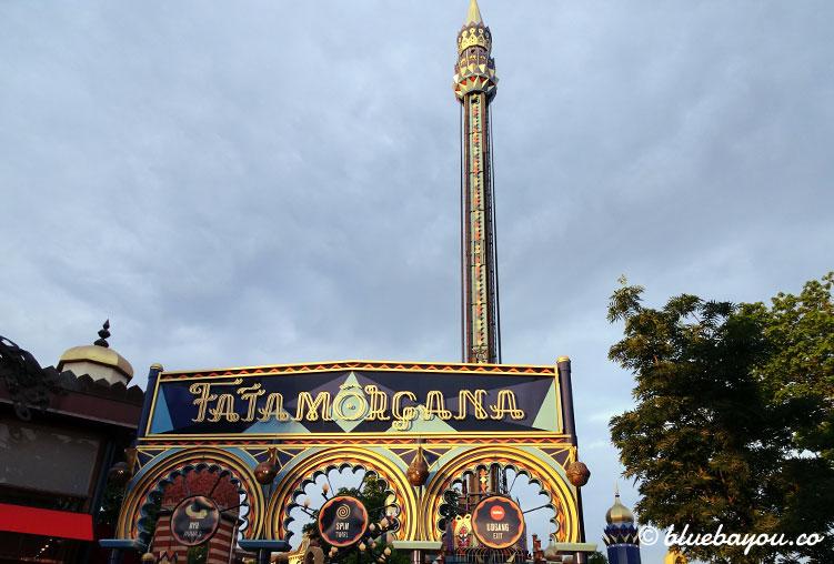 Fata Morgana bietet im Freizeitpark Tivoli einen tollen Blick über Kopenhagen.
