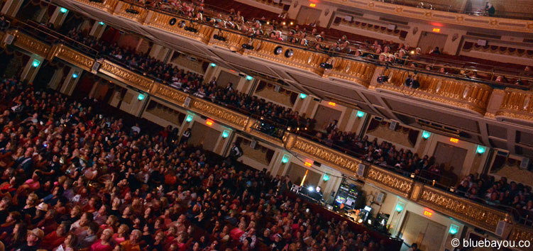 Das Publilum im Orpheum Theatre während des Ultimate Elvis Tribute Artist Contests.