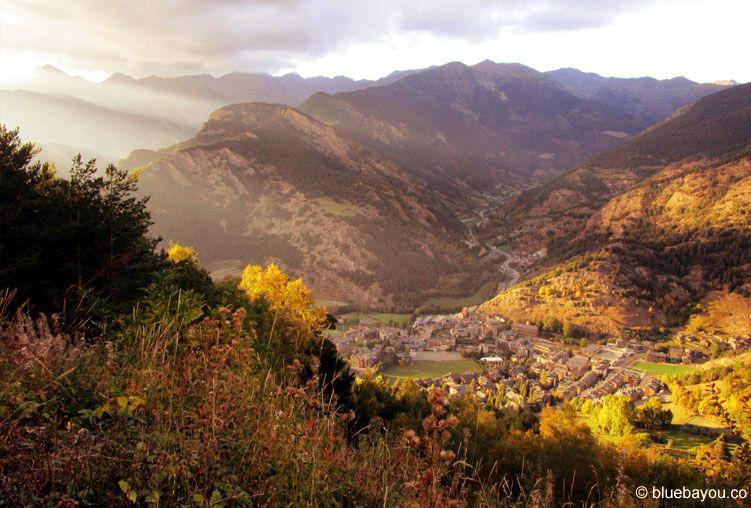 Zusatzkategorie Sonnenuntergang: Fantastische Abendstimmung in den Bergen Andorras.