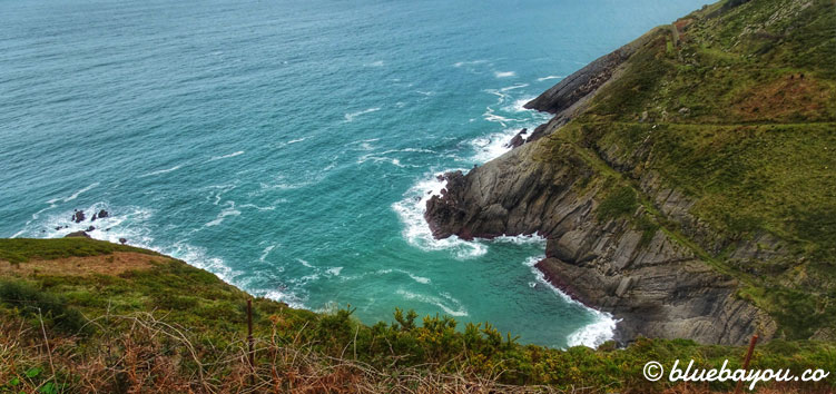 Ausblick aufs Meer vom Camino del Norte.