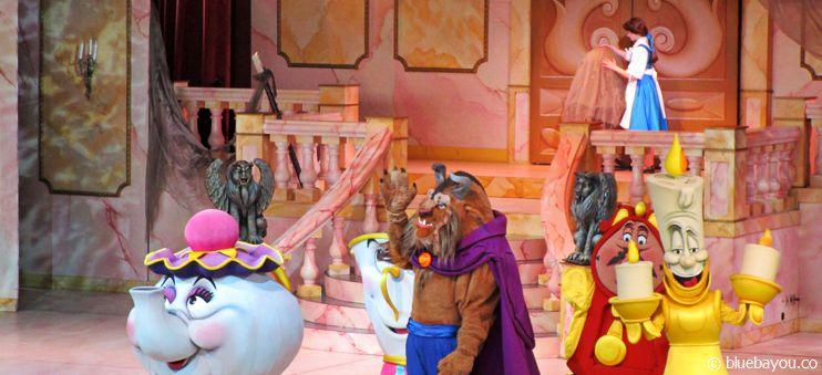 Beauty & the Beast: Musical in den Hollywood Studios in Walt Disney World Orlando.