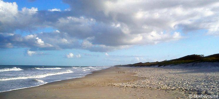 Melbourne Beach, Florida - etwas südlich von Cocoa Beach