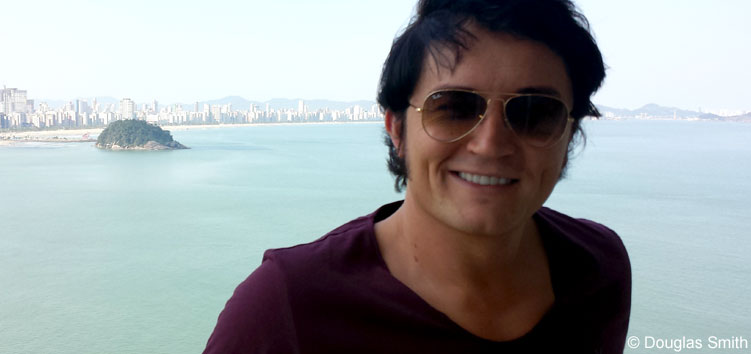 Ben Portsmouth in Rio de Janeiro, Brasilien in 2015.