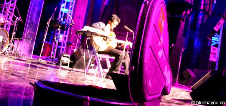 Ben Portsmouth während seines Akustikkonzerts in Memphis.