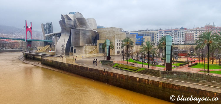 Das Guggenheim-Museum in Bilbao.