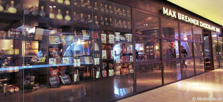 Max Brenner Chocolate Bar in Sydney.