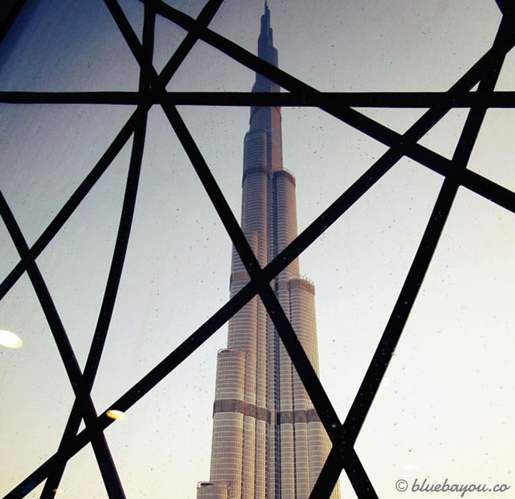 Der Burj al Arab an Tag 2 der halben Weltreise in Dubai.