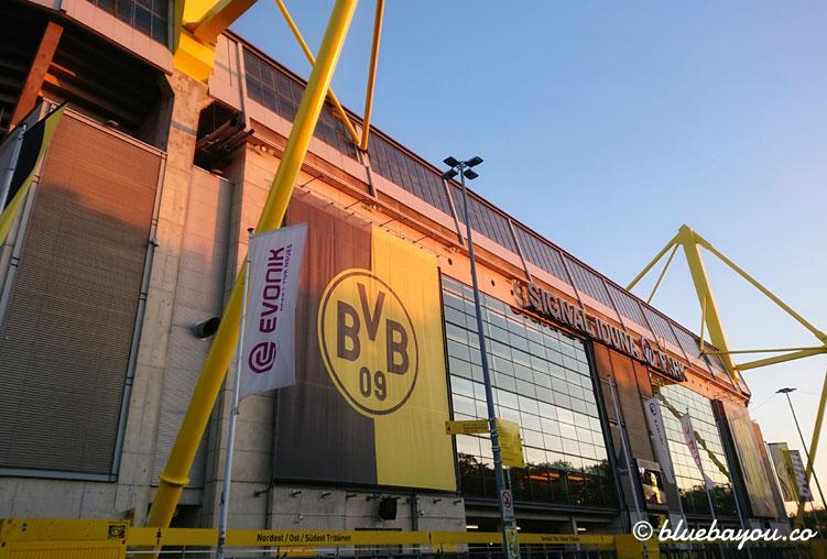 Das BVB-Stadion ist der Startpunkt meines privaten Megamarschs.