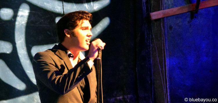 Cody Ray Slaughter am 9. August 2015 während der Elvis Week im New Daisy Theater Memphis.