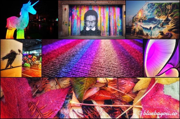 Fotoparade 2020: Collage zum Thema Farbe & Kunst