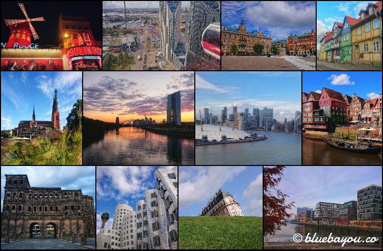 Fotoparade 2020: Collage zum Thema City