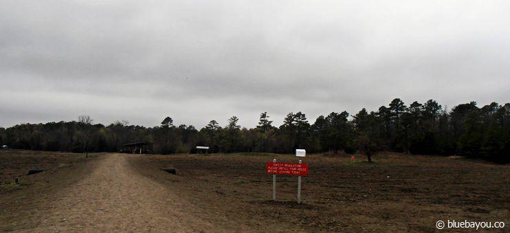Der Eingangsbereich des Crater of Diamonds State Parks in Arkansas: Überall könnte ein Diamant warten!