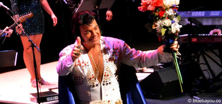 David Lee: Der Gewinner des Ultimate Elvis Tribute Artist Contest 2015.