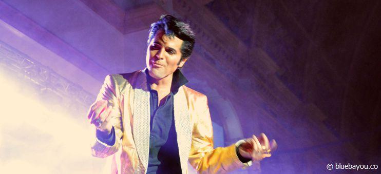 Dean Z während seines Auftritts in Blackpool: die Arbeit macht ihm sichtlich Spaß!