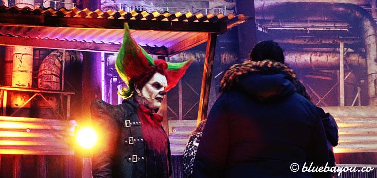 Eddie der Clown: hier beim Meet & Greet mit Fans in Walibi Holland.