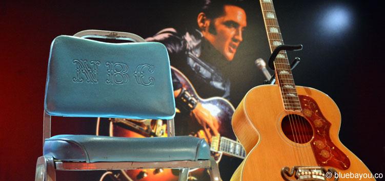 Elvis at the O2: Der Original-Stuhl des 1968er Comeback Specials.