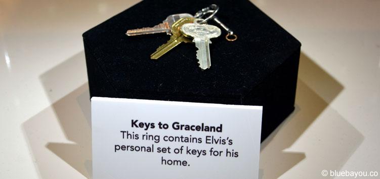 Elvis at the O2: Elvis Presleys Schlüsselbund zu seinem Anwesen Graceland.