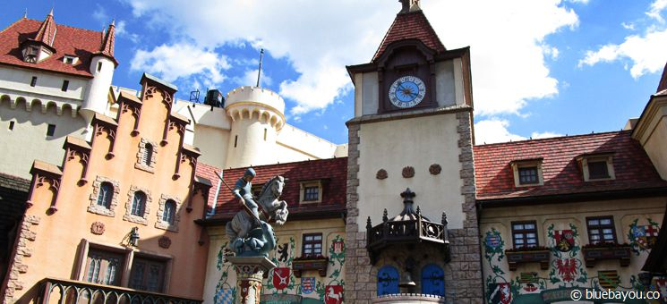 Epcot Themenpark in Walt Disney World Orlando: Der deutsche Länderpavillon.