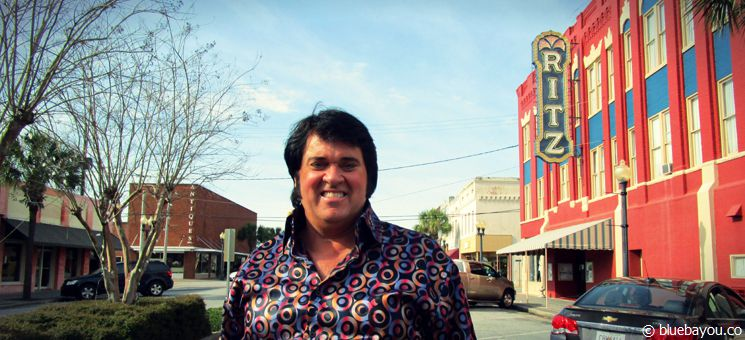 "Ernie Hefferon: Sieger des ""Non-Pro""-Ultimate-Elvis-Contests während des Georgia Elvis Festivals 2015."
