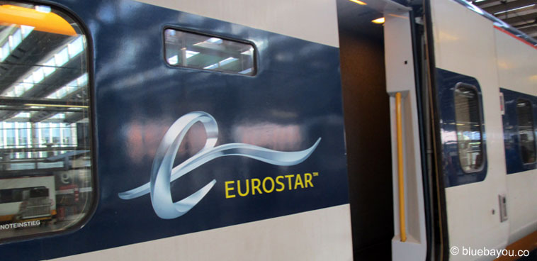 Mit dem Eurostar von London nach Calais - mitten ins Flüchtlingsdrama.