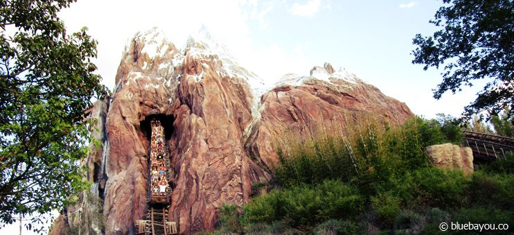 Expedition Everest im Disney Themenpark Animal Kingdom.