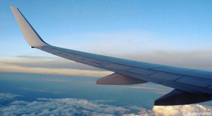 Fernweh 2015 - Über den Wolken