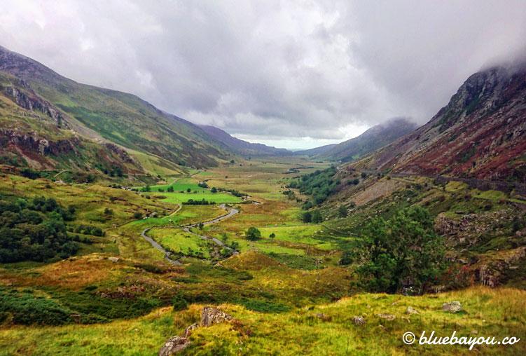 Fotoparade: Wie gemalt sah es oft aus, im Snowdonia National Park in Wales.