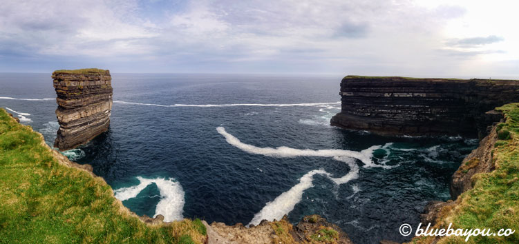 Fotoparade: Downpatrick Head am Wild Atlantic Way in Irland.