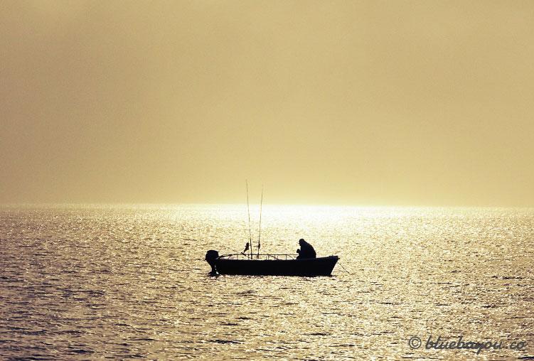 Der alte Mann und das Meer - aufgenommen in Spanien.