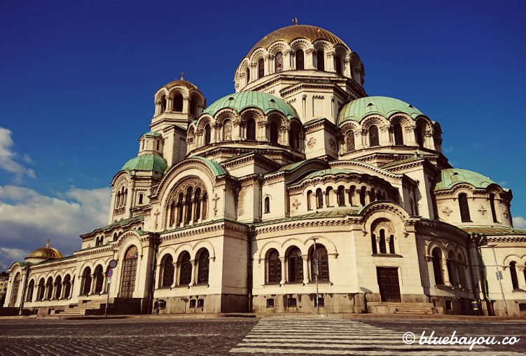 Die Alexander-Newski-Kathedrale in Sofia, Bulgarien.