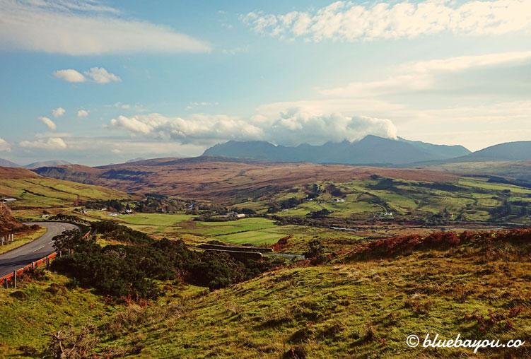 Fotoparade Landschaft - Zusatzbild: Traumhaftes Schottland mit endloser Weite.