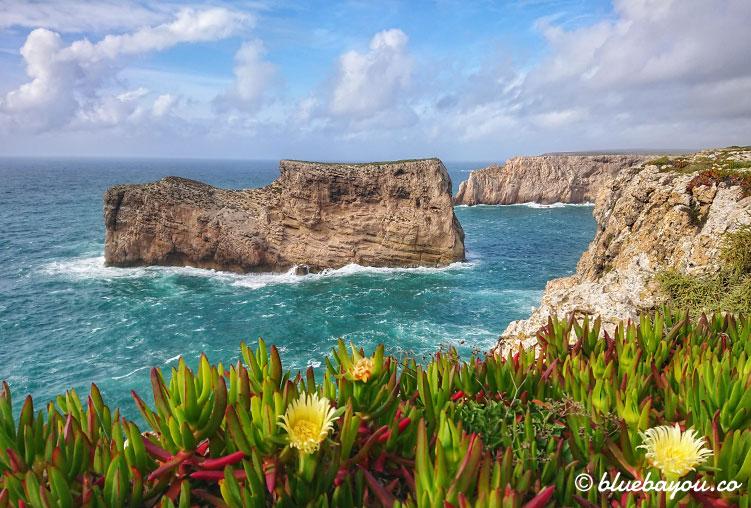 Fotoparade: Am Kap St. Vicente enstand dieses Foto mi Blick auf die Klippen.