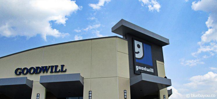 Goodwill USA: Filiale der Second-Hand-Kette.