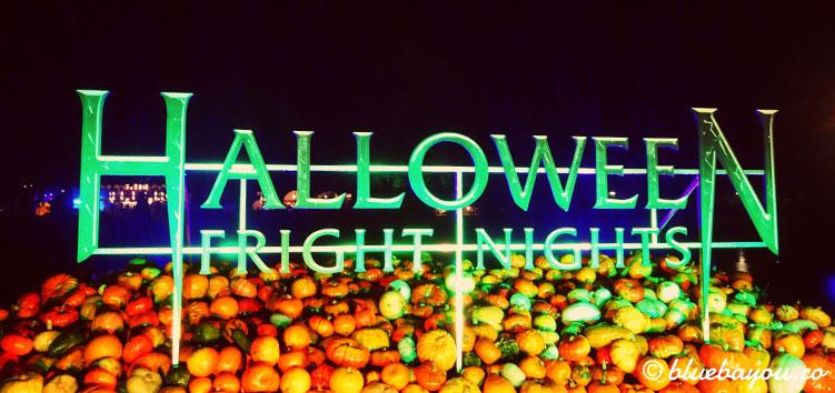 Die Halloween Fright Nights im Freizeitpark Walibi Holland.