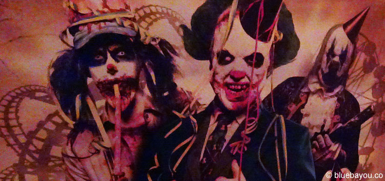 Circus of Freaks beim Halloween Horror Fest im Movie Park Germany.