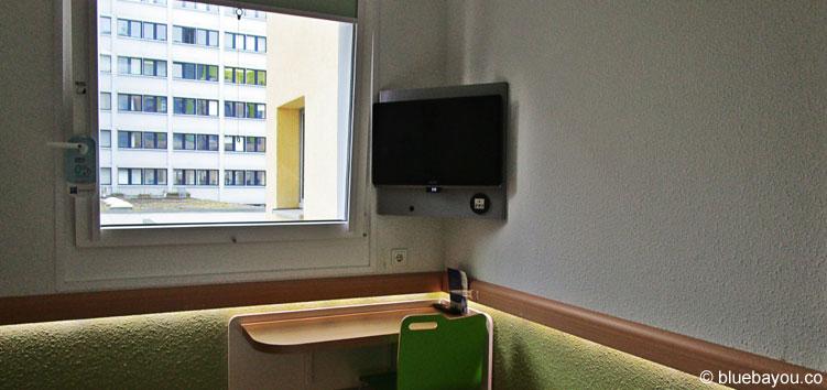Die Wandbeleuchtung im ibis budget Berlin Kurfürstendamm hat mir besonders gut gefallen.