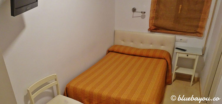 Mein Hotelzimmer in San Vicente de la Barquera entlang des Camino del Norte.
