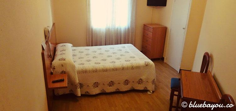 Mein Hotelzimmer in Santander.