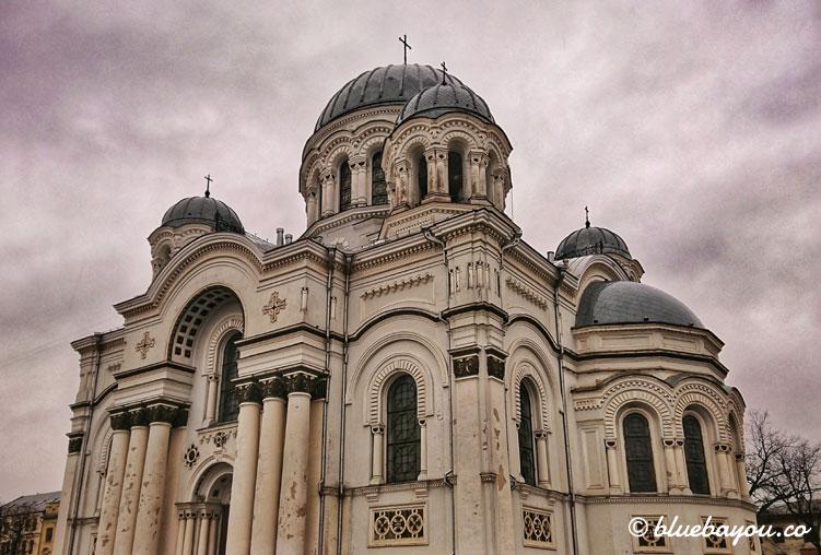 Kirche des Erzengels Michael in der litauischen Stadt Kaunas.
