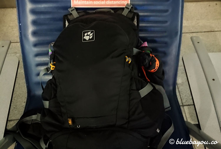 Mein Reisegepäck für die Malediven: jenseits des Restaurants trage ich ausschließlich einen Bikini und reise somit sehr leicht.