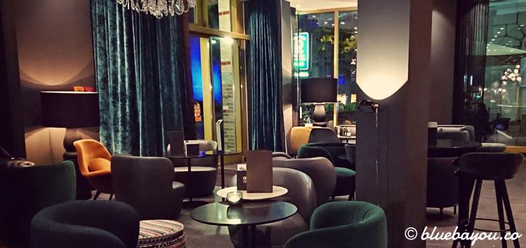 Die One Lounge des Motel One Berlin-Ku'Damm.