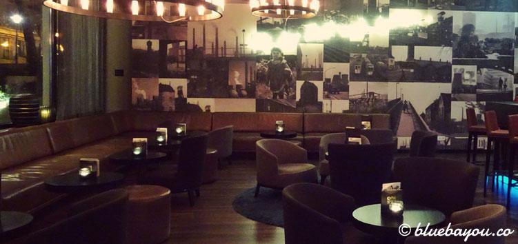 Die One Lounge des Motel One Essen.