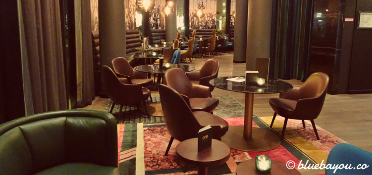 Die One Lounge des Motel One Bonn-Beethoven.