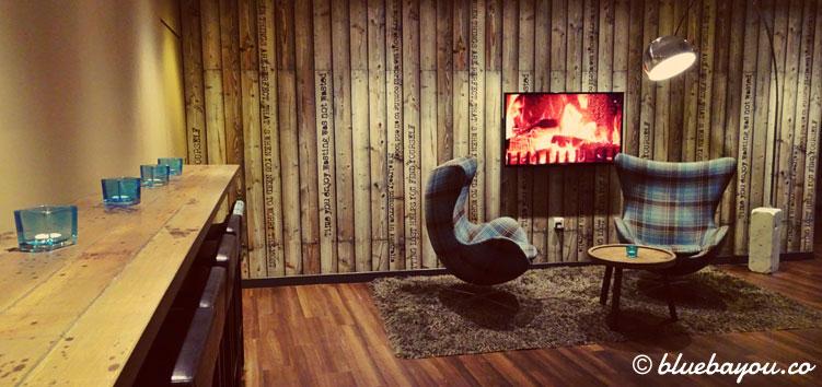 Die One Lounge des Motel One Edinburgh-Royal in Schottland.